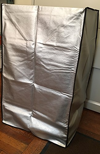 Frigidaire FFPA1422R1 Portable Air Conditioner Grey Padded Anti-Static Dust Cover with side package to put the remote control Dimensions 19''W x 16''D x 31''H