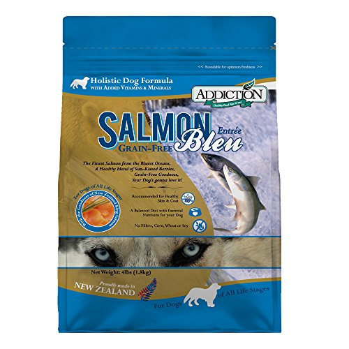 Addiction Salmon Bleu Grain Free Dry Dog Food, 20...