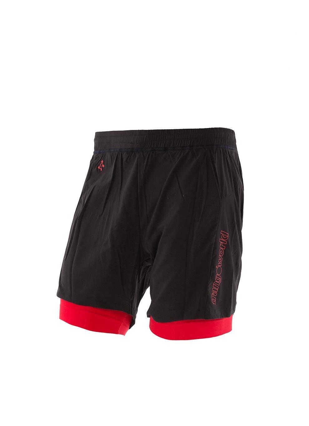 Trango pc008012 Shorts, Kurze XXXL schwarz/rot