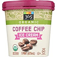 365 Everyday Value Organic Coffee Chip Ice Cream, 16 oz (Frozen)