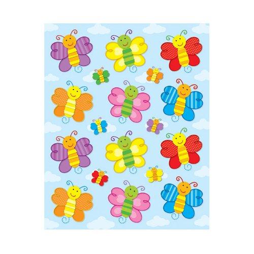- Carson Dellosa Butterflies Shape Stickers (168032)