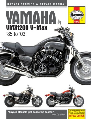 - Yamaha VMX1200 V-Max '85 to '03 (Haynes Service & Repair Manual)