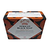 Nubian African Black Soap 5 Ounce (6 Pack)