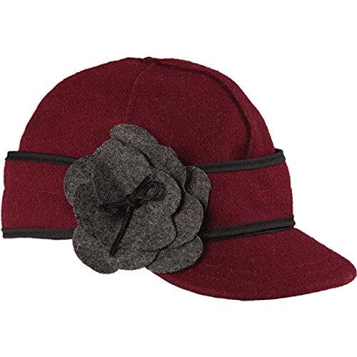 (Stormy Kromer Women Petal Pusher Cap Thimbleberry 7 1/4)