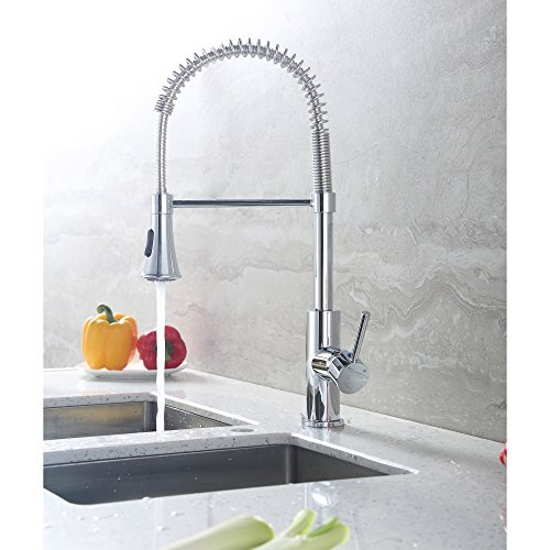 Luxier Nickel Pull Down Faucet Nickel Luxier Pull Down Faucet