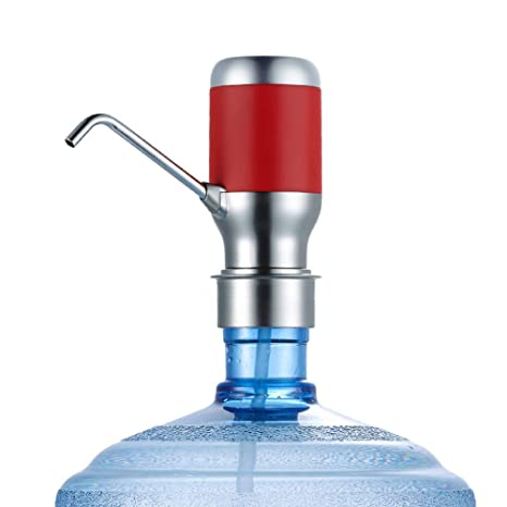 Surtidor Eléctrico De La Bomba De Agua Botella De 5 Galones, Efluente Cuantitativo, Dispensador