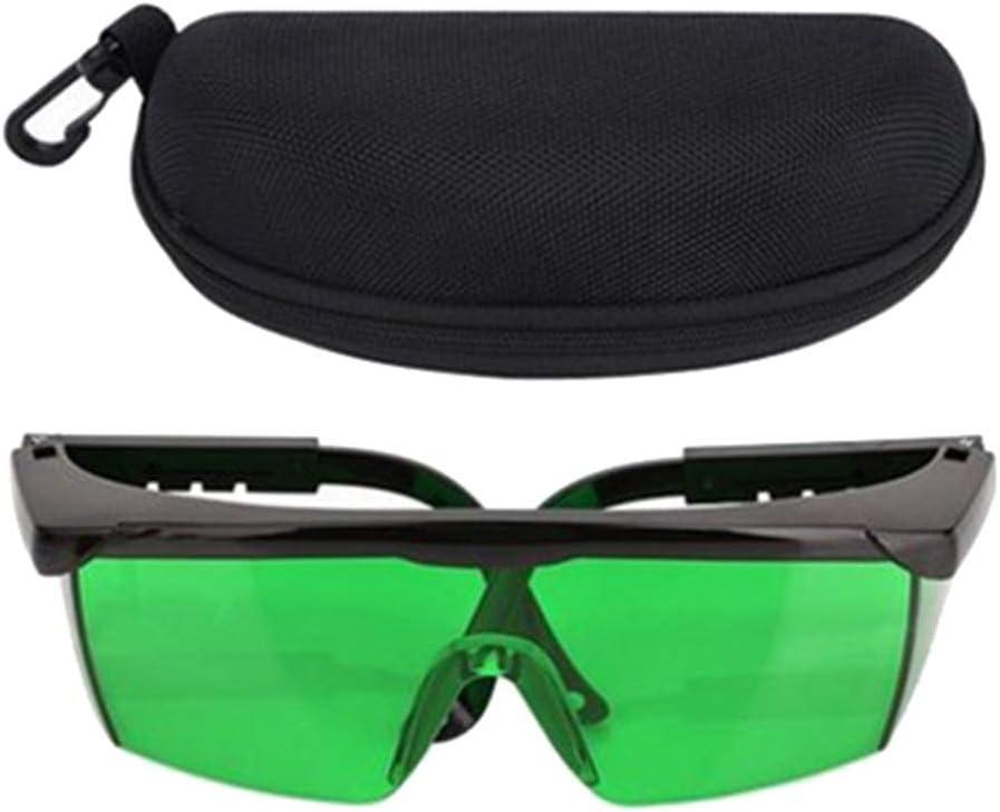 Almencla Gafas De Mejora Protección De Los Ojos Gafas De Seguridad Para Nivel - Verde