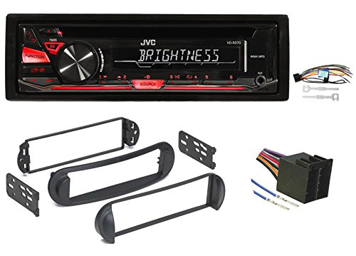 1999-2010 Volkswagen VW Beetle JVC CD Player Receiver Stereo w/ MP3/WMA/Aux