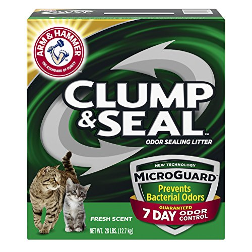 Arm & Hammer Clump & Seal Litter with Micro Guard, 28 Lbs