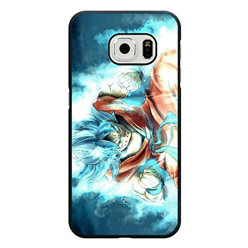 """Samsung Galaxy S7 Edge Cases, Samsung Galaxy S7 Edge Cases, Goku Super Saiyan God Super Saiyan Hard Plastic Drop Protection Snap On PC Case Cover For Samsung Galaxy S7 Edge 5.5"""" (Not Fit S7)"""