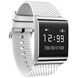 KOBWA Fitness Tracker X9 Plus Smart Band Bracelet with Heart Rate Monitor,Blood Pressure and Oxygen Monitor,Sleep Monitor,Pedometer,IP67 Waterproof Activity Tracker Wristband Watch for Andriod and IOS