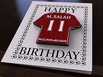 2bd61977c3d MyShirt123 PREMIER LEAGUE FOOTBALL CLUB SHIRT BIRTHDAY CARDS - FREE  PERSONALISATION - ANY NAME
