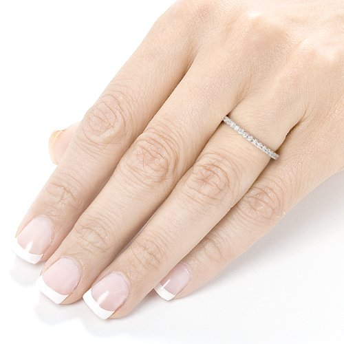 band wedding domed ring bands mens men s carat channel eternity ct dw diamond