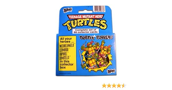 1990 Topps Muntant Ninja Turtles Trading Card Factory Set