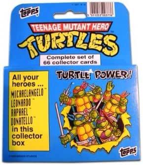 1990 Topps Muntant Ninja Turtles Trading Card Factory Set