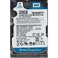 WD3200BPVT-22JJ5T0, DCM SHMTJHK, Western Digital 320GB SATA 2.5 Hard Drive