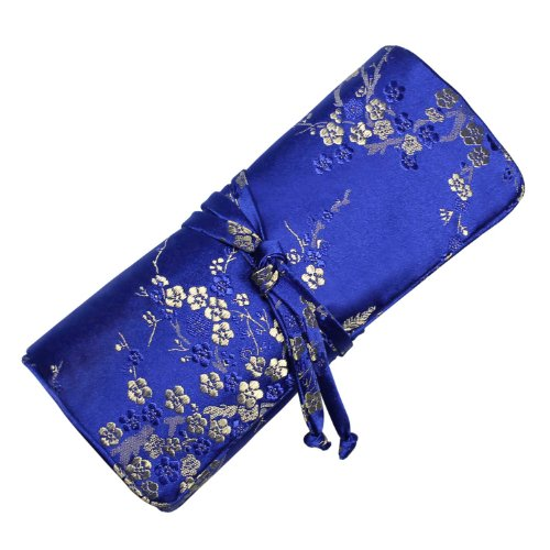 silk-brocade-jewelry-roll-plum-blossom-classic-blue-gold