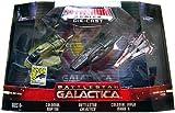 Battlestar Galactica Titanium 2007 Comic-Con Exclusive Diecast Mini 3-Pack (Colonial Raptor, Black Battlestar Gallactica & Colonial Viper Mark II)