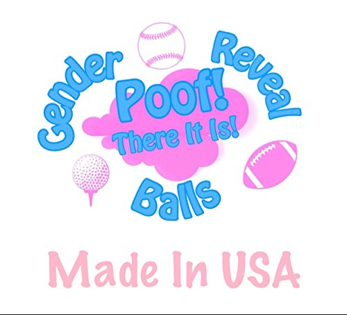 Gender Reveal Football Gender Reveal (Blue) by Poof (Image #3)