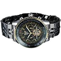 Mens Wristwatch - JARAGAR Mens Multifunction Tourbillon automatic mechanical Wristwatch