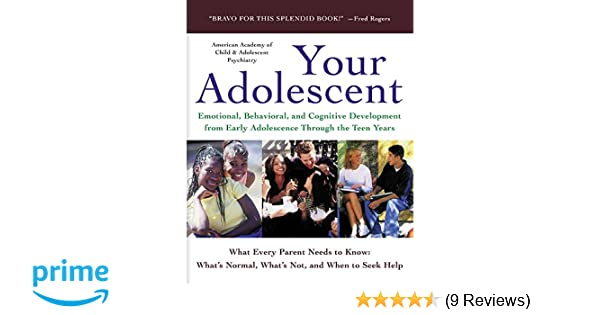 Depression In Children And Teens Aacap >> Your Adolescent Emotional Behavioral And Cognitive