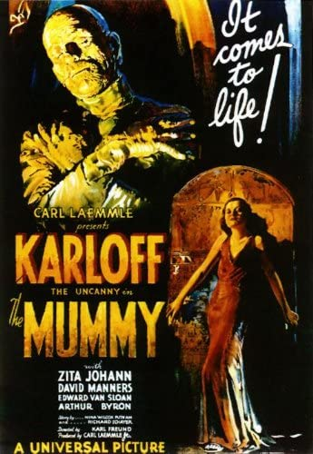 Amazon.com: Momia (Karloff) enorme Película Paper Póster ...
