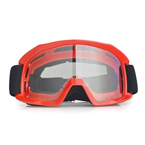 Occhiali Di Protezione Trasparenti, Occhiali Da Vista, Occhiali Da Bicicletta Uv400, Sicurezza Sportiva Occhiali Anti-Vento (nero)