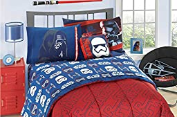 Star Wars Comforter Set, 7 Pc. Full, Reversible Design