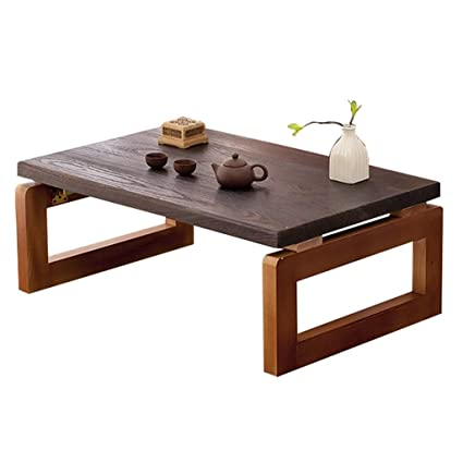 Tatami Low Table Home Solid Wood Folding Table Living Room Coffee
