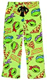 Nickelodeon Women's Teenage Mutant Ninja Turtles Pizza Fleece Sleep Pants - Large