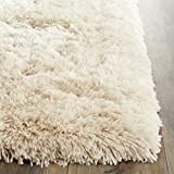 Safavieh Arctic Shag Collection SG270V Handmade Beige Polyester Area Rug (2'6″ x 4′) Review