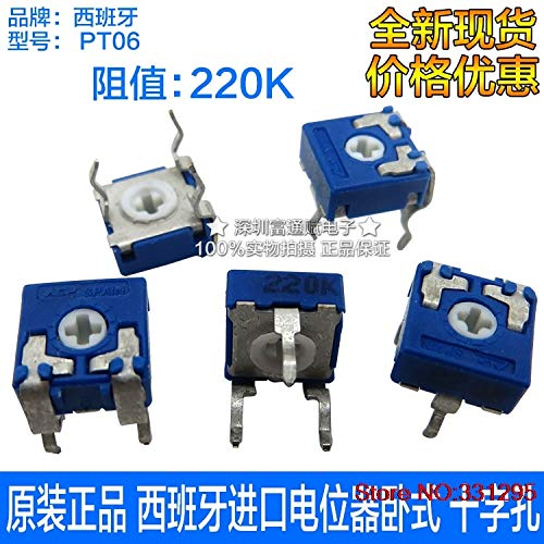 Passive Components Have An Inquiring Mind 2pcs Wth118 2w 1a Potentiometer 1k 2.2k 4.7k 10k 22k 47k 100k 470k 1m Wth118-2w Round Shaft Carbon Rotary Taper Potentiometer Carefully Selected Materials