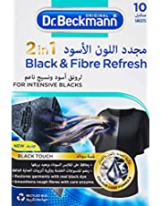 Dr.Beckmann 2 in 1 Black and Fibre Refresh 10 Sheets
