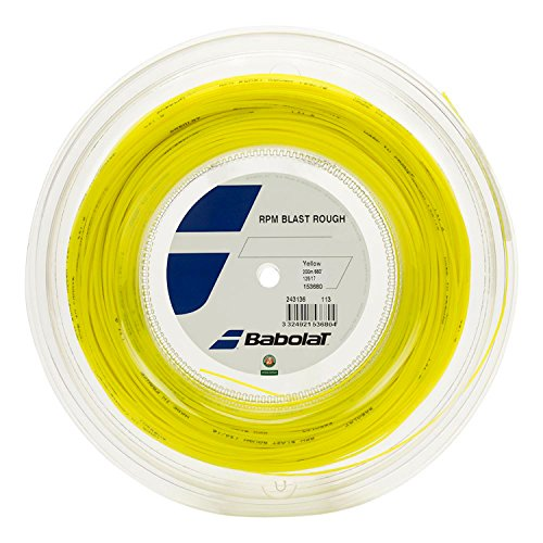 Babolat RPM Blast Rough Tennis String Reel, 17g (Yellow)