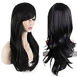 AKStore Women's Heat Resistant 28-Inch 70cm Long Curly...