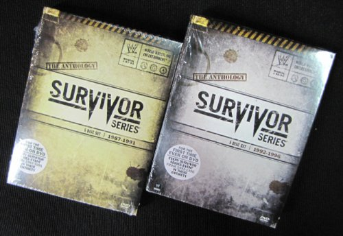 WWE: Survivor Series Anthology, Vol 1 and Vol 2 (1987-1991 and 1992-1996) (Wwe 1991)