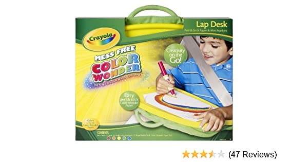 Amazon.com: Crayola Color Wonder Lap Desk: Toys & Games