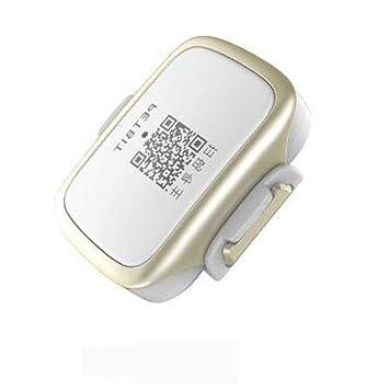 ZHENGDY Mascota Collar Localizador GPS,Mini Localizador Anti-Perdida Anti-Robo De Dispositivos De Alarma,Talla única Perros Y Gatos,White: Amazon.es: Hogar