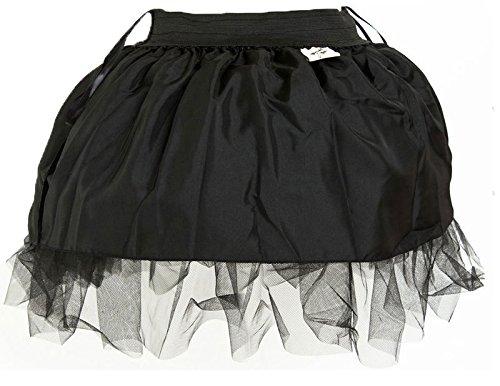 ZAMME Cinturones Corsé Bustiers + falda de tutúu Negro 3