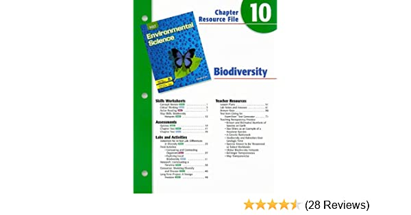 Holt Environmental Science Chapter 10 Resource File