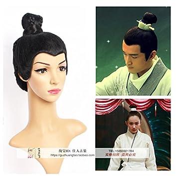 amazon com costume wig sansei iii langya stands hu ge su mei long