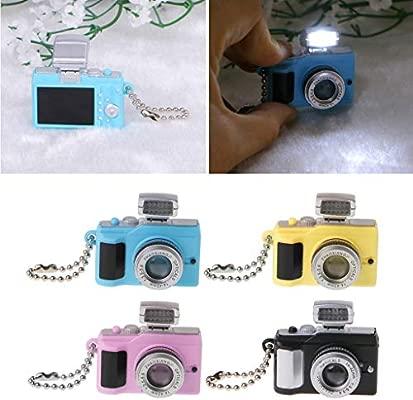 YiFeiCT Mini Cute Reflex TLR - Llavero LED para cámara de Fotos ...