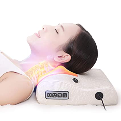 Amazon.com: FCXBQ Almohada de masaje cervical, masaje ...