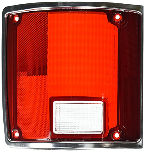 Depo 00-332-1925L-S1 Chevrolet/GMC Driver Side Replacement Taillight Lens Chevrolet K10 Tail Light Lens