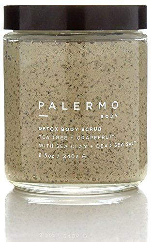 Palermo Body - All Natural Detox Body Scrub - Tea Tree + Grapefruit (8.5 oz / 240 g)