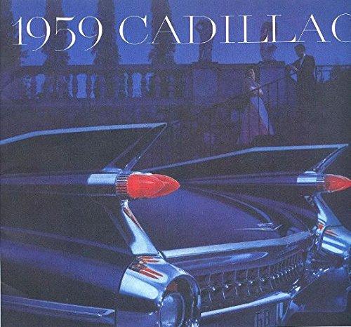 1959 CADILLAC DEALERS SALES BROCHURE Shows Deville, Series 62, Sixty Special, Eldorado Biarritz, Eldorado Seville, , Eldorado Brougham, and Fleetwood 75 - ADVERTISEMENT - CATALOG
