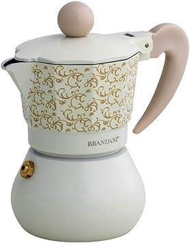 BRANDANI Cafetera 1 Taza rulos de Hada Aluminio: Amazon.es: Hogar