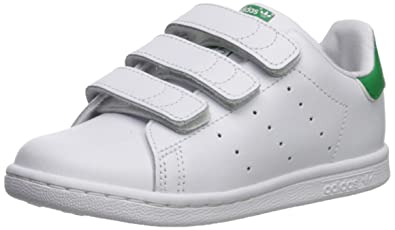 premium selection b9f33 4c568 Amazon.com | adidas Originals Kids' Stan Smith Cloudfoam ...