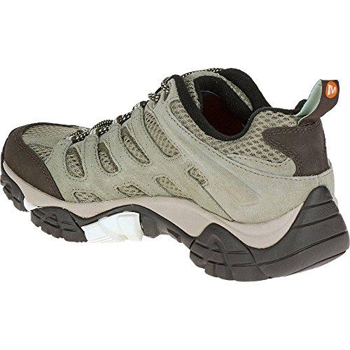 Merrell Women's Moab Ventilator Low Rise Hiking Shoes Green (Granite) ObQ9hG