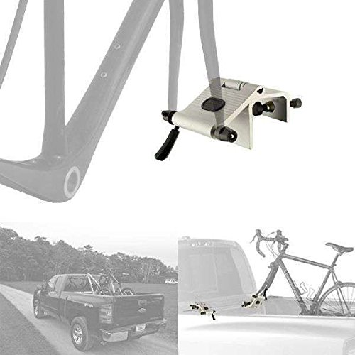 CyclingDeal Bicycle Bike Rack Car Carrier Fork Anchor Point for UTE Tray Truck - Bicycle Truck Rack Pickup